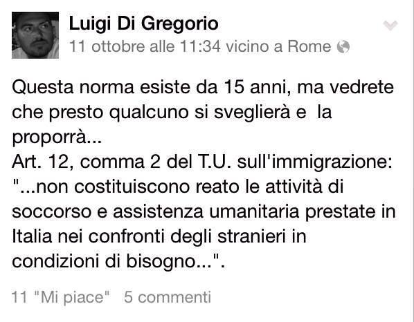 FB Lampedusa